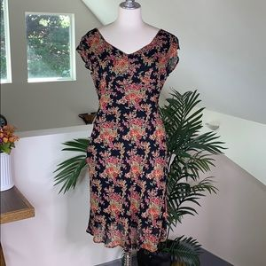 April Cornell Victorian Rose Garden Party Dress S